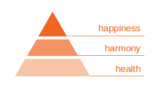 Pyramid of Wellbeing